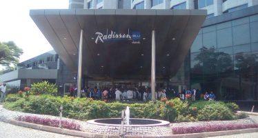 VIDEO -Congo : Le personnel de l'Hôtel Radisson Blu Brazzaville en grève