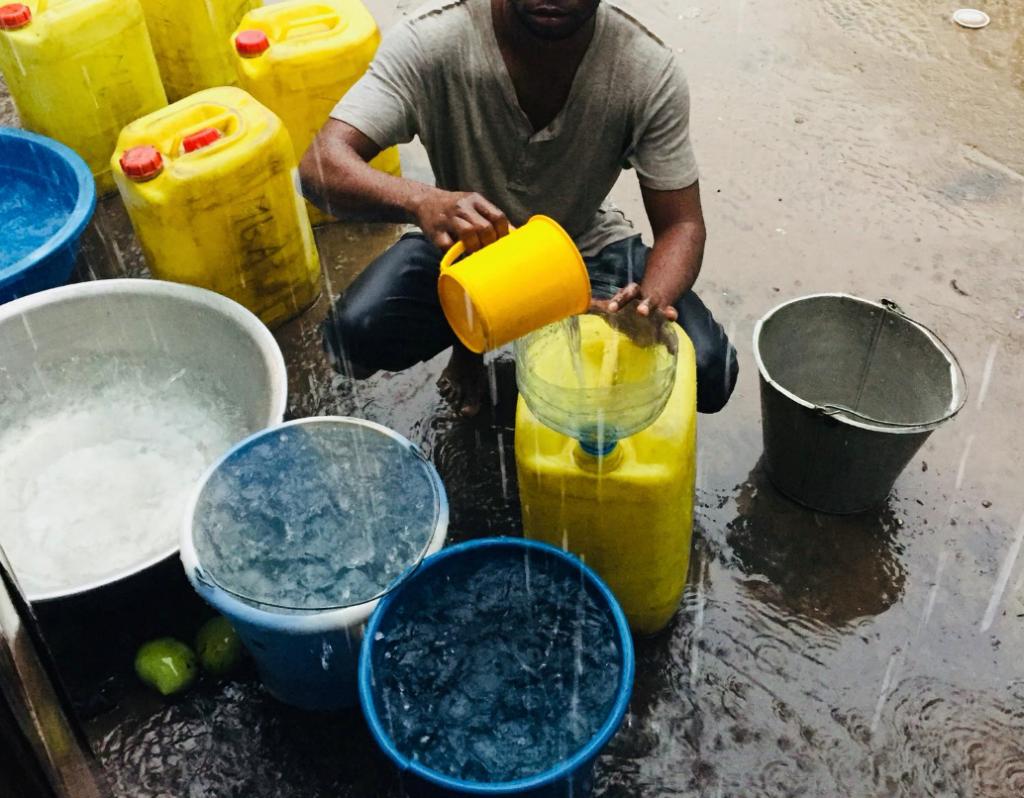 Recueillir l'eau de pluie