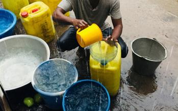 Congo : Recueillir la��eau de pluie pour les besoins de mA�nage
