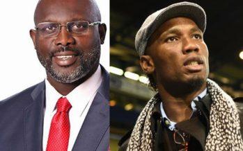 Quand George Weah ouvre les portes de la politique et de la présidence à Didier Drogba