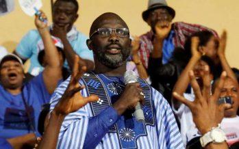 Georges Weah est élu au second tour Président du Liberia !
