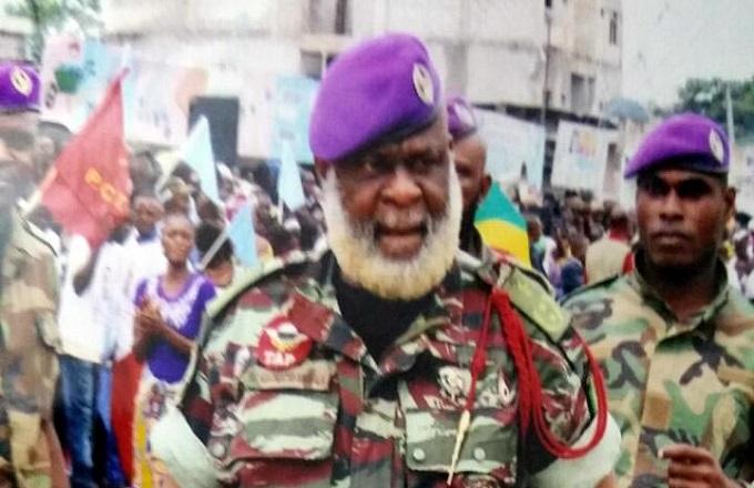 Le général Nianga Mbouala