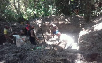 Congo – Exploitation artisanale de l'or : Les jeunes de Mayoko dedans !