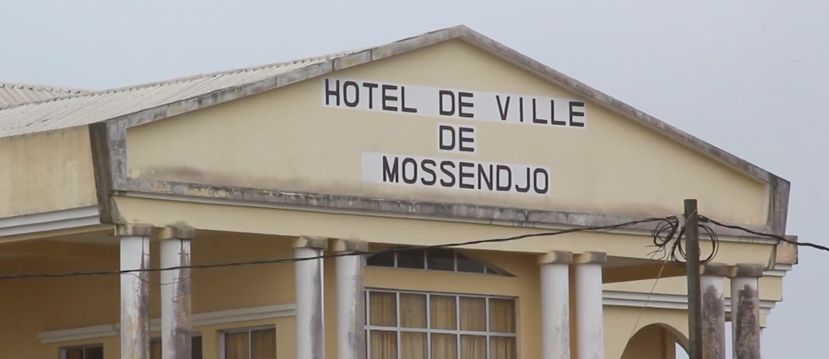 L'hôpital de Mossendjo