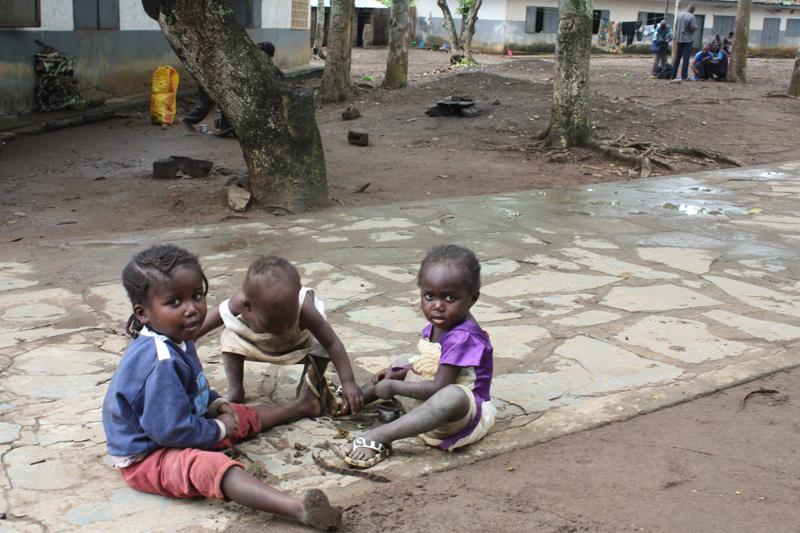Enfants déplacés du Pool ©UNICEF/Congo/2017