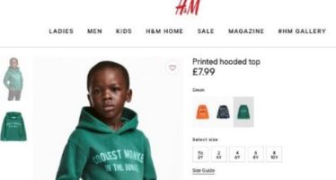 """H&M """"Le singe le plus cool de la jungle"""" est un enfant Noir"""