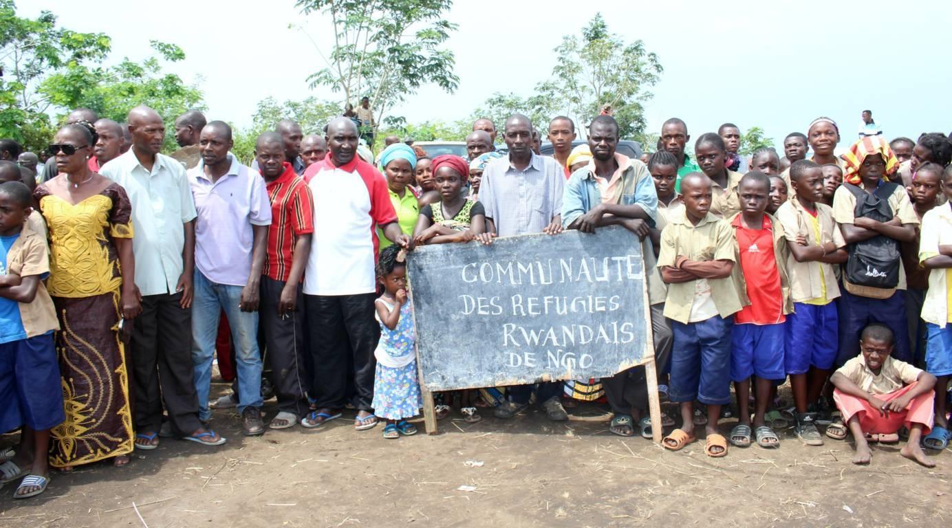 réfugiés rwandais