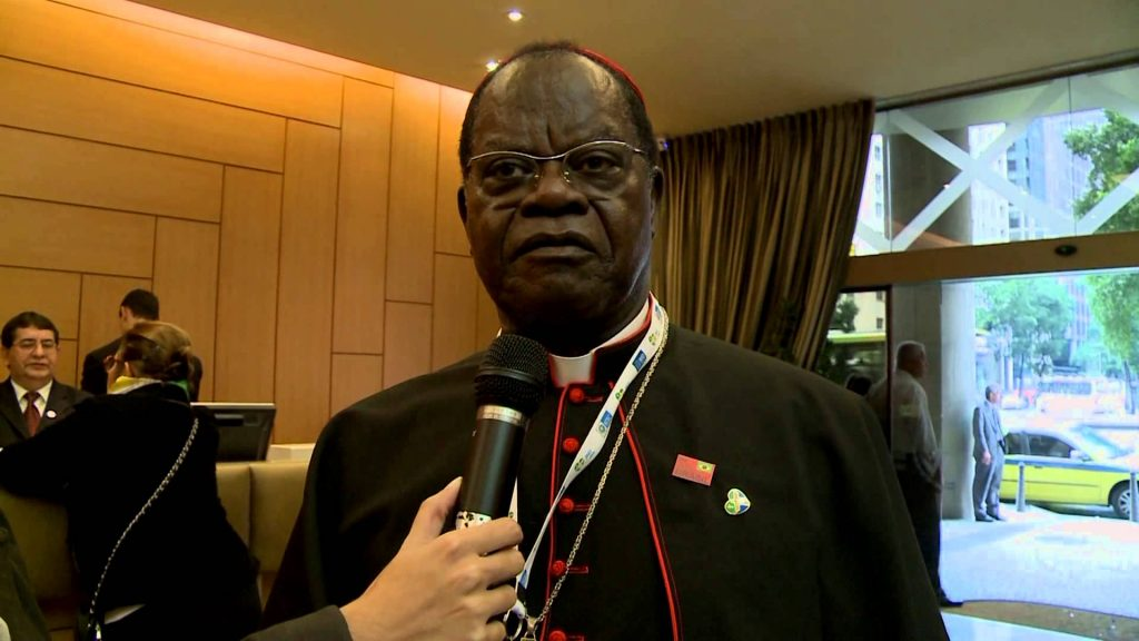 Le cardinal Laurent Monsengwo
