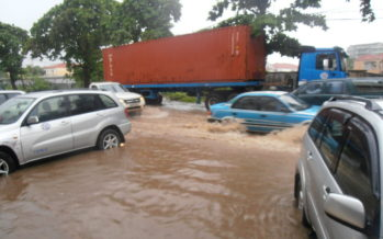 Congo : plusieurs quartiers de Pointe-Noire dans l'eau