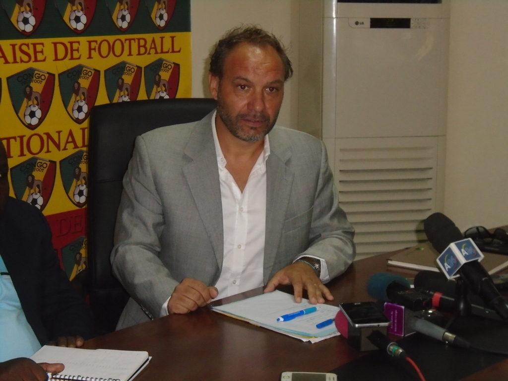 Sébastien Migné n'est plus le sélectionneur du Congo