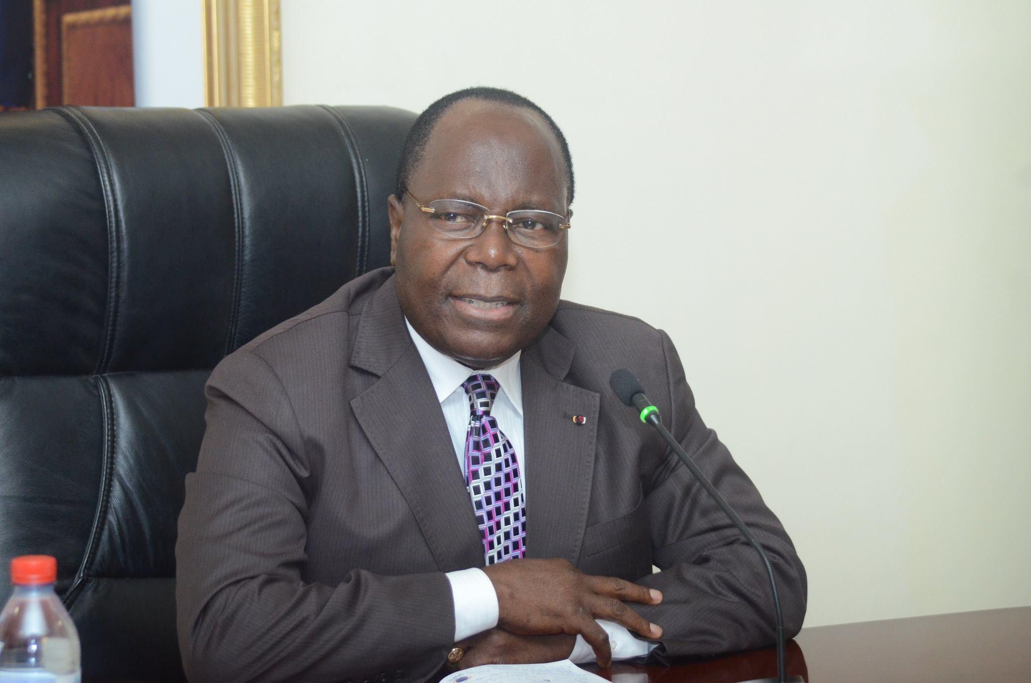 le Premier ministre, Clément Mouamba