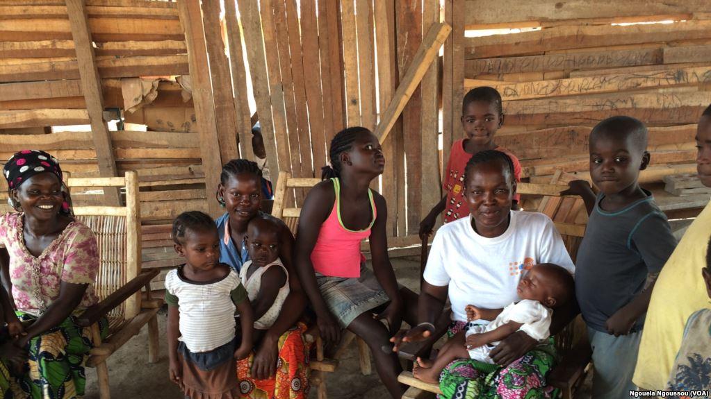 réfugiés centrafricains du Congo-Brazzaville