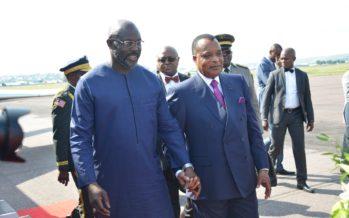 Congo-Liberia : le président George Weah en séjour à Brazzaville
