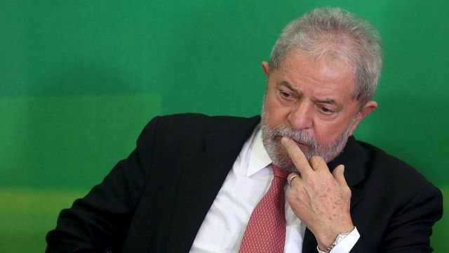 L'ex-président brésilien Lula