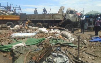 Congo : Un spectaculaire accident au péage de Kintélé fait 17 blessés