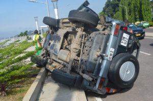 Circulation routière : un accident sur la Corniche