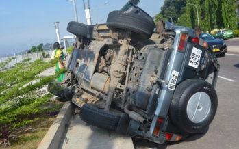 Brazzaville : un accident sur la Corniche