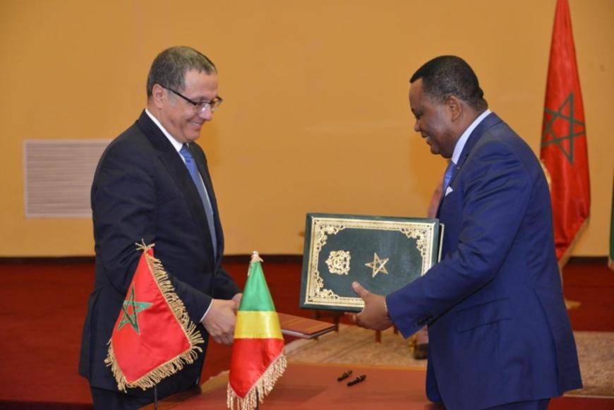 Le Congo et le Maroc