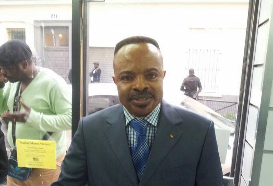 Tony Gilbert Moudilou, un Congolais qui se présente comme un avocat, est accusé d'avoir participé au montage de la vidéo au centre du dossier d'accusation