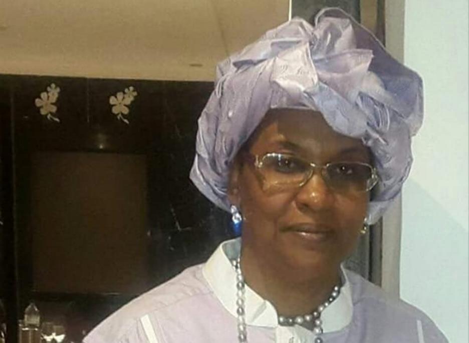Madame Safy Sow Mokoko, épouse du Général Congolais Jean-Marie Michel Mokoko