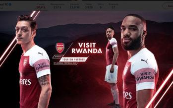 Foot : le Rwanda, nouveau sponsor d'Arsenal, s'invite sur le maillot des Gunners