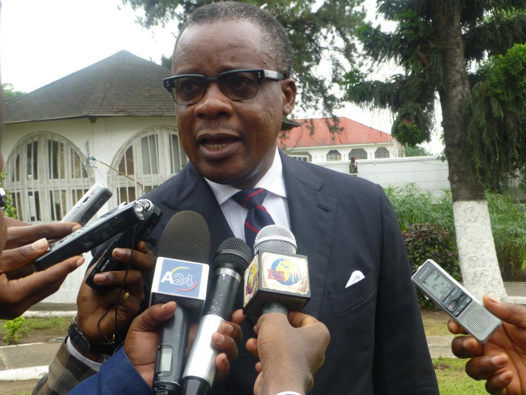 Alain Akouala Atipault, ancien ministre des Zones Economiques Spéciales