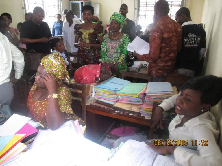 Les travailleurs au Congo Brazzaville