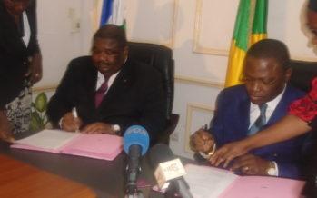 Signature d'une convention dans le secteur du transport entre le Congo et la RCA
