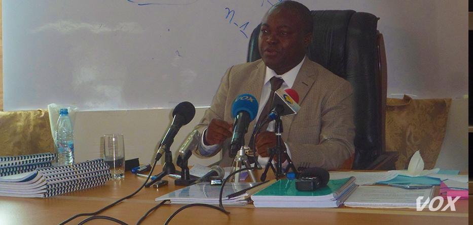 Jean Didier Elongo , l'ancien directeur des marchés publics de l'État