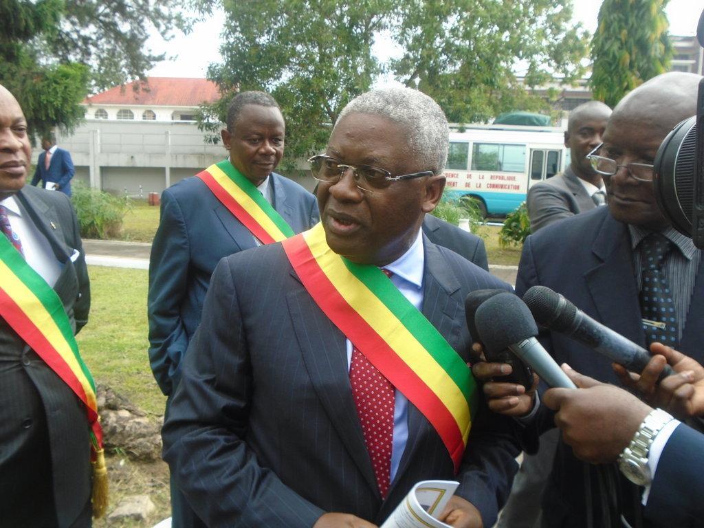 le chef de file de l'opposition, Pascal Tsaty-Mabiala.