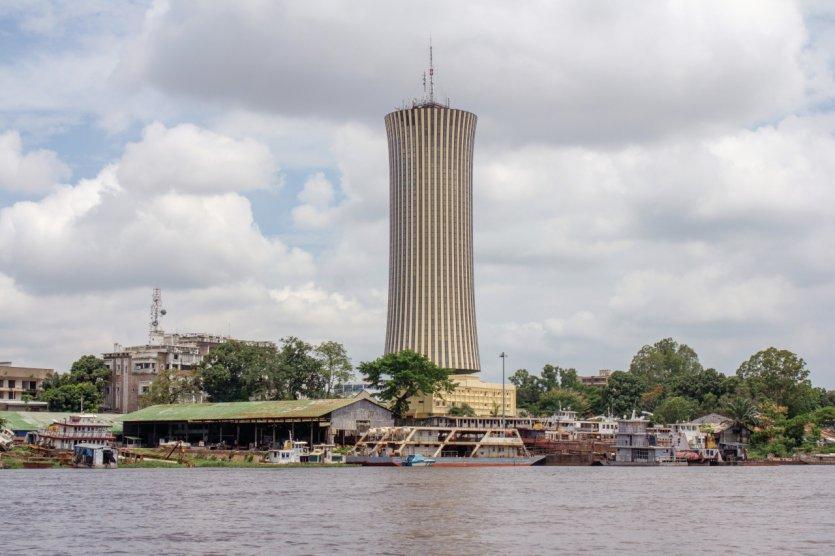 La Tour Nabemba, la��immeuble le plus haut du Congo