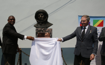 50e anniversaire du Centre culturel russe : Youri Gagarine se voit érigé un buste à Brazzaville