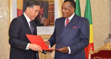 La Chine et le Congo souhaitent contribuer à la construction d'une communauté de destin sino-africaine