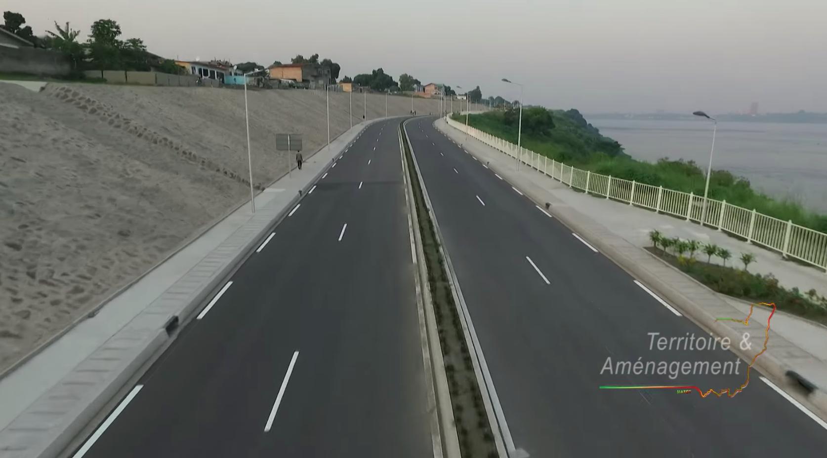 Route de la Corniche: la France et le Congo se réjouissent de l'excellence de leurs relations