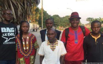 Congo : Le pouvoir lâche du lest et libère des activistes de Ras-le-Bol