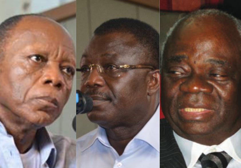 Jean-Marie Michel Mokoko, Norbert Dabira et Jean-Martin Mbemba