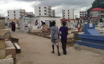 Brazzaville: le cimetière du centre-ville a failli être ravagé par un incendie
