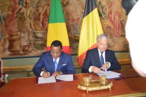 Jean-Claude Gakosso et Didier Reynders