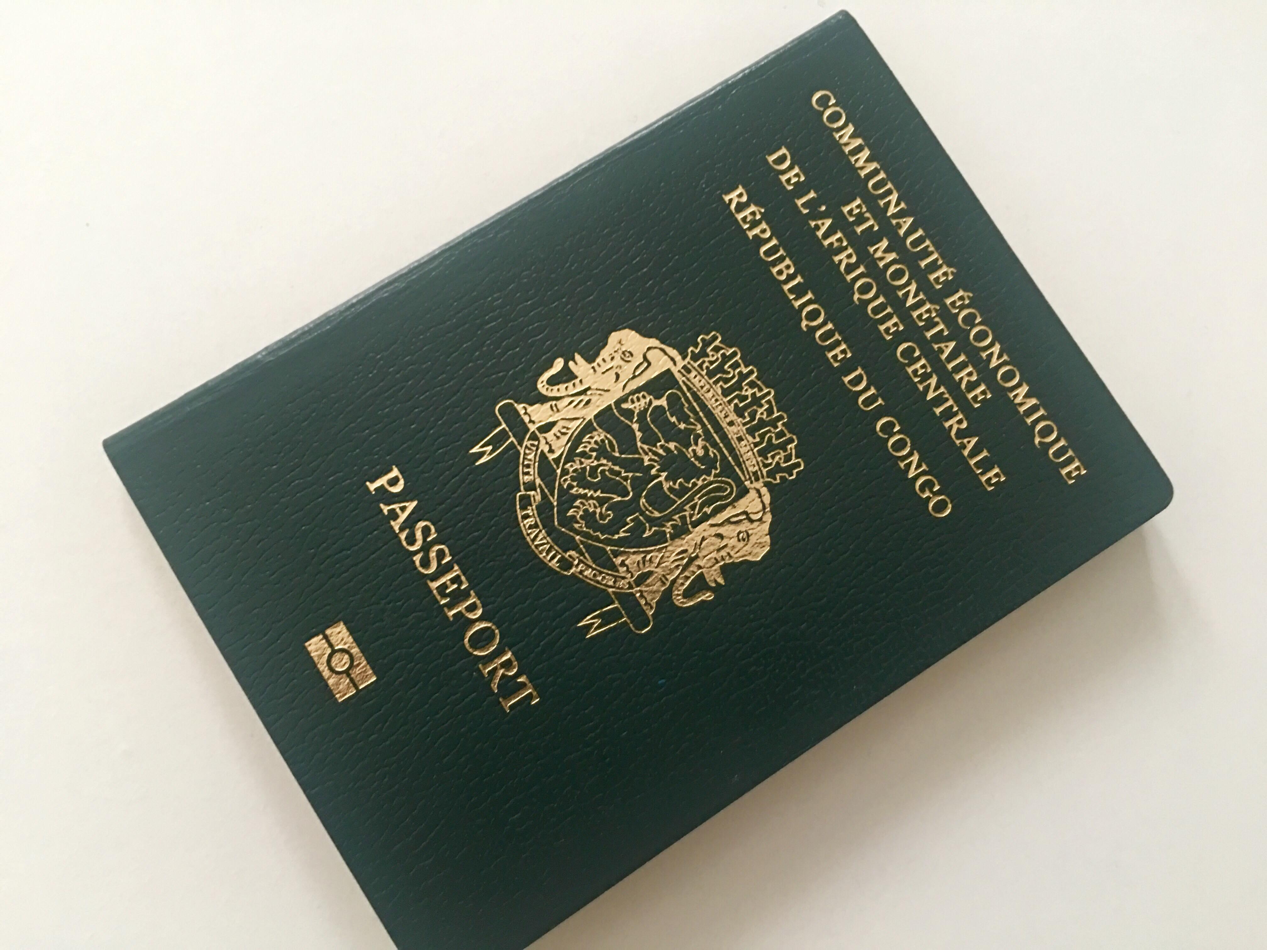 Le passeport congolais