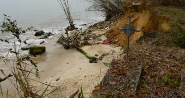 Congo : Le cimetiA?re de Loango menacA� de disparition totale par la��A�rosion