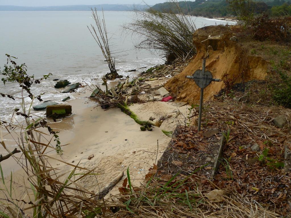 le cimetière de Loango