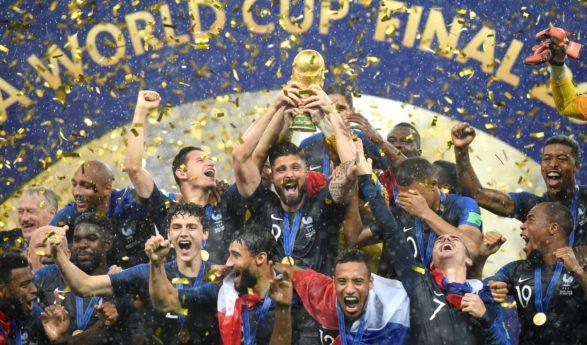 La France championne du monde après sa victoire face à la Croatie (4-2)