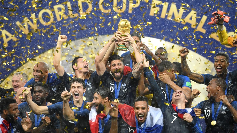 La France championne du monde après sa victoire face à la Croatie (4-2