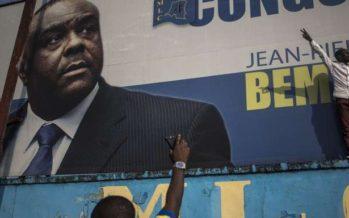 Présidentielle en RDC : la candidature de Bemba «irrecevable», la tension remonte