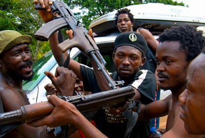 Des ninjas à Brazzaville