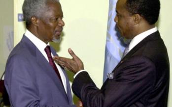 Décès de Kofi Annan : Sassou N'Guesso déplore la perte «d'un digne fils de l'Afrique»