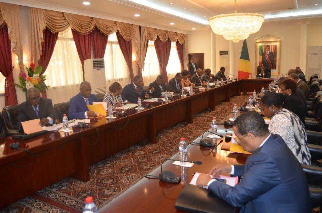 Les membres du gouvernement congolais
