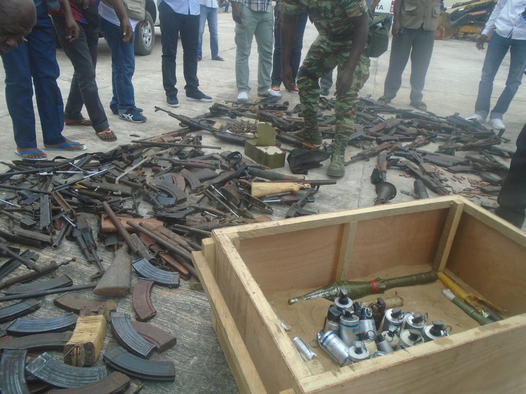 Congo - Début de l'opération de ramassage d'armes dans le Pool.