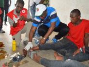 Congo-Zimbabwe : une dizaine de blessés à l'entrée du stade Massamba-Débat