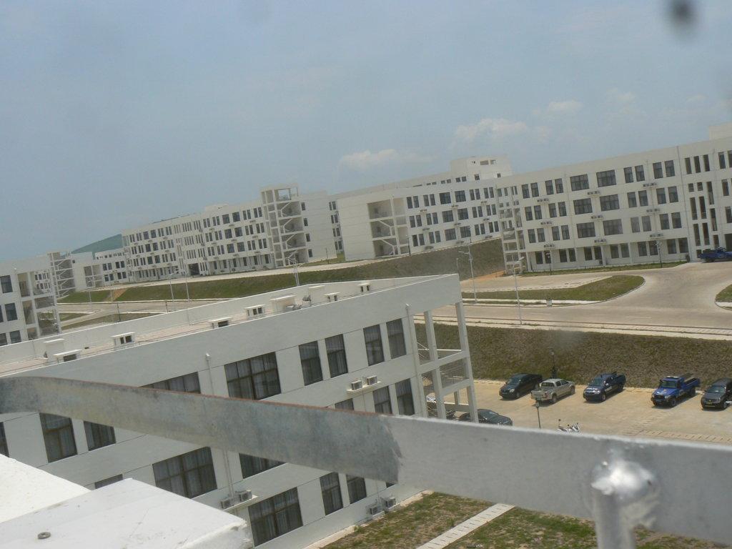 Une vue partielle des bâtiments de l'Université Denis Sassou N'Guesso